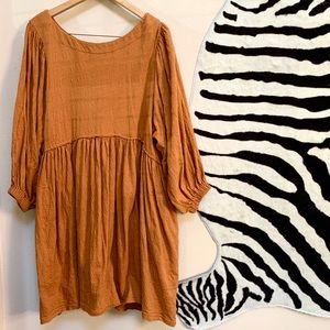 FREE PEOPLE LS DRESS with balloon sleeves